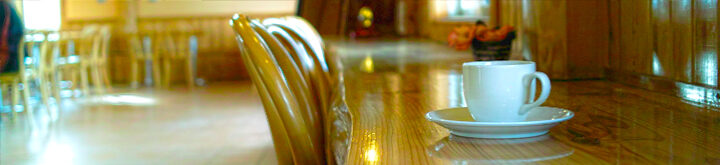 レストランカウンター席